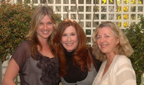Melissa Hooven, Marsha Collier and Linda Sherman at my favorite Sunday brunch - the Belvedere at the Peninsula Hotel, Beverly Hills