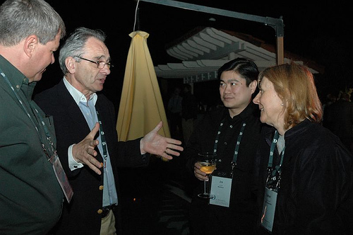 Esther Dyson with Joi Ito, Barak Berkowitz and Jean Louis Gassee D Conference 200