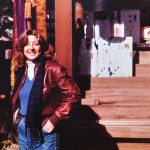 Linda Sherman at Shrine in Japan