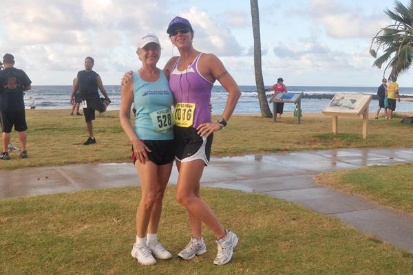 Linda Sherman and Melissa