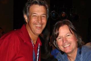 Ray Gordon and Sean Morey at Atlantic City High School Reunion