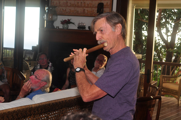 flute playing for birthday