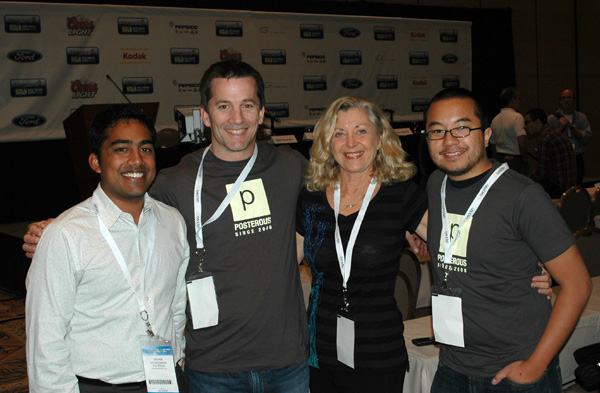 Posterous Executives with Linda Sherman