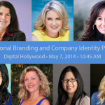 speakers digital hollywood personal and company identity branding panel collage by Ray Gordon