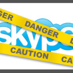 Skype Danger Caution graphic by CourageGroup.com