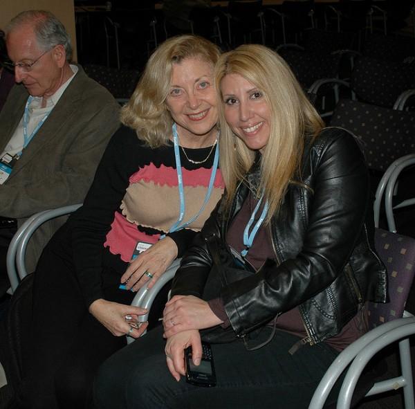 Linda Sherman and Stefanie Michaels @AdventureGirl