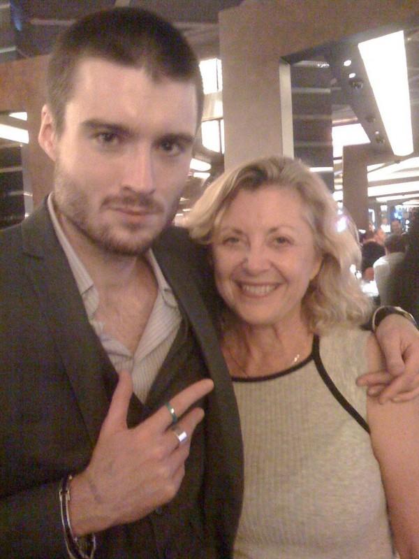 Pete Cashmore Mashable with Linda Sherman