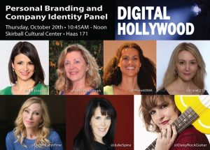 Branding Panel Digital Hollywood Fall 2016