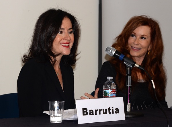 Elizabeth Barrutia with Marsha Collier Digital Hollywood Branding Panel Fall 2017 photo by Ray Gordon