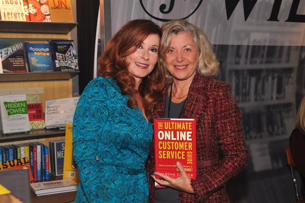 Marsha Collier with Linda Sherman